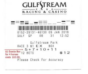 horse racing bet calculator superfecta