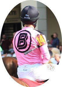 What are horse racing jockey silks made out of