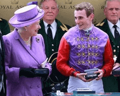 Queen Elizabeth II Jockey Silks