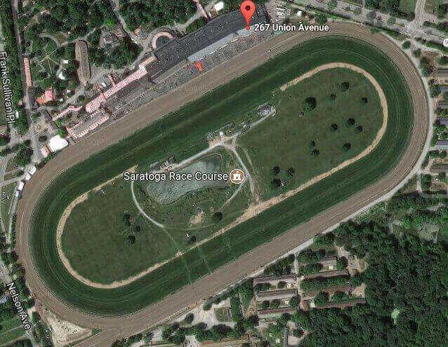 Saratoga Race Course Track