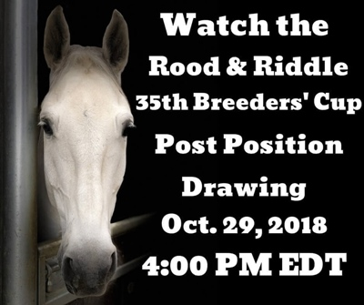 Watch the 35th Post Position Drawing LIVE