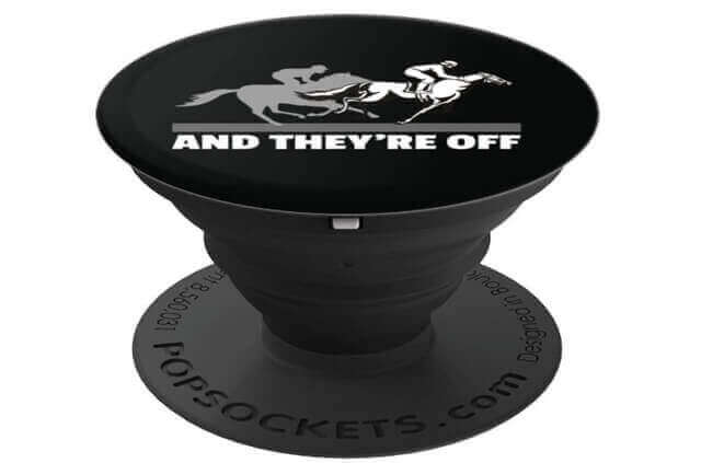 And Theyre Off Horse Racing - PopSockets for Phones
