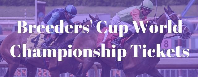 Breeders Cup Tickets 2 Day Pass