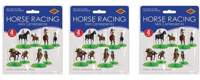 Horse Racing Centerpieces