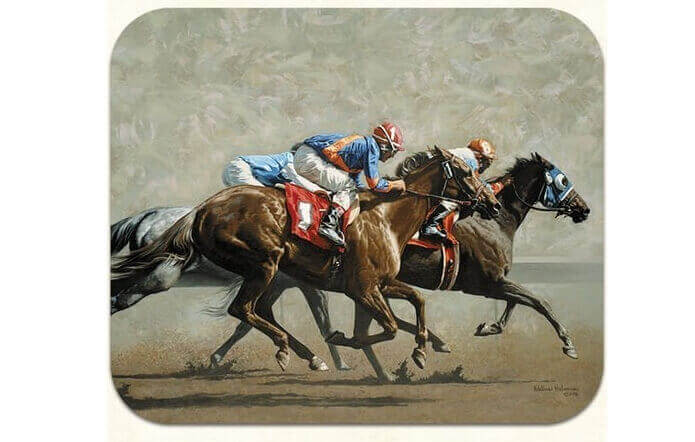 Horse Racing Gift Mouse Pad