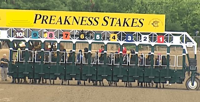Preakness Stakes Starting Gate